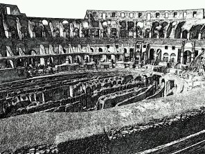 10. Rome in the drawing