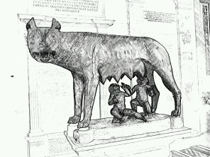 2. Rome in the drawing