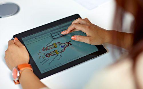 Studying through an iPad