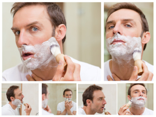 Fill Facial Hairs With Water Before Shaving