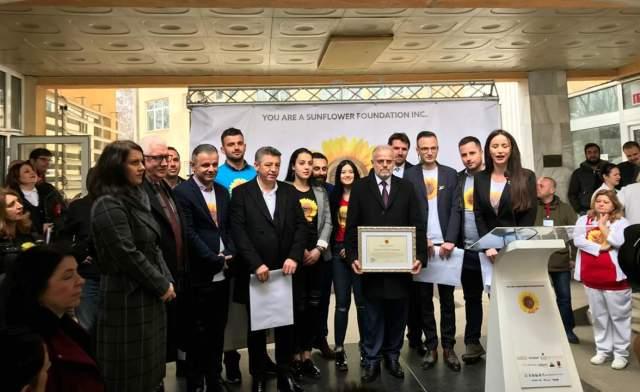 """Parlamenti Studentor i UT-së mori pjesë në mbylljen e fushatës """"Ti je një luledielli"""""""