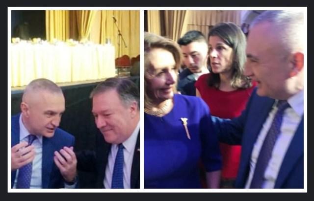 Presidenti Meta takon Sekretarin e Shtetit Pompeo dhe Kryetaren e Kongresit Amerikan Pelosi