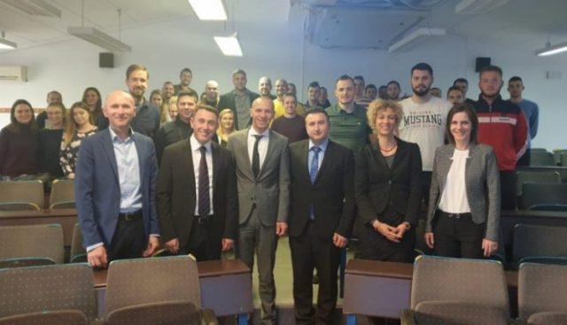 Profesorët e UT-së prezantuan punime shkencore në Universitetin e Zagrebit