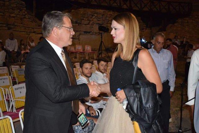 """Ministri i Kulturës, Hysni Ismaili, mori pjesë në përmbylljen solemne të Festivalit """"Vera e Ohrit"""""""