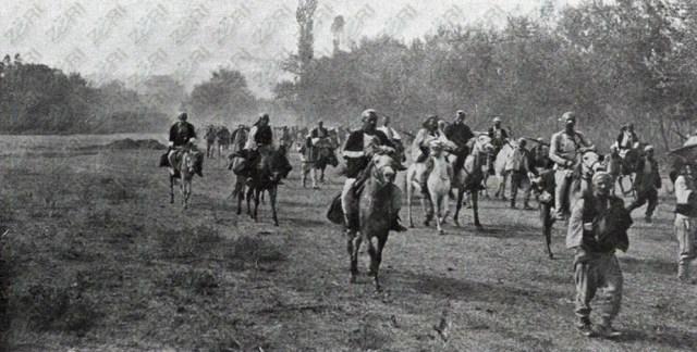 Foto historike të çlirimit të Shkupit në vitin 1912