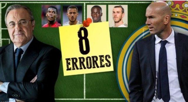 8 gabimet e Real Madridit në këtë merkato verore