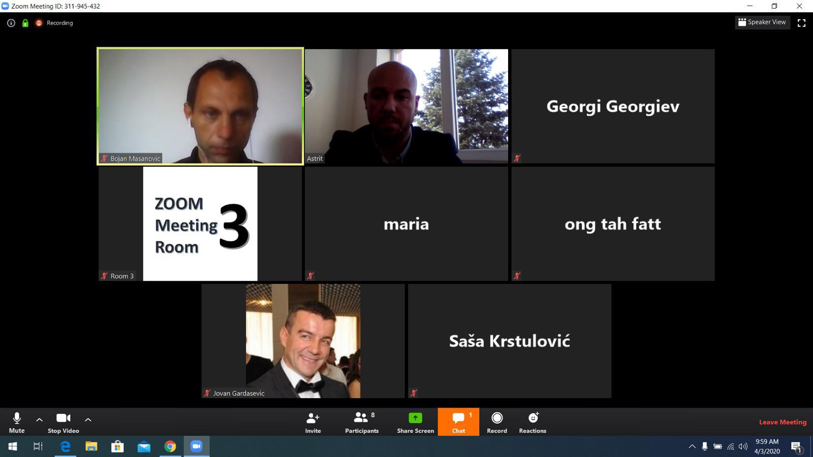 Universiteti i Tetovës dhe Akademia e Sporteve e Malit të Zi e organizuan online konferencën e 17 të vjetore
