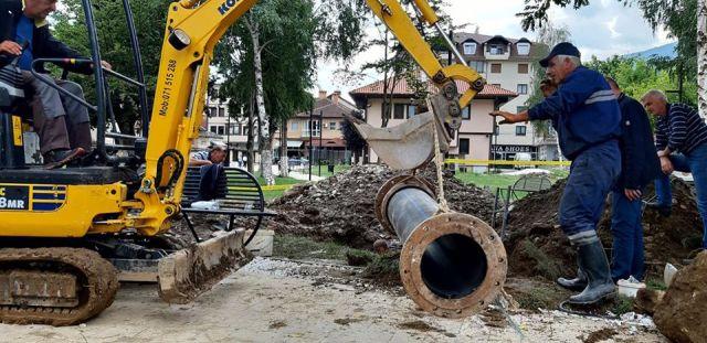 Një pjesë e Tetovës sot sërish pa ujë