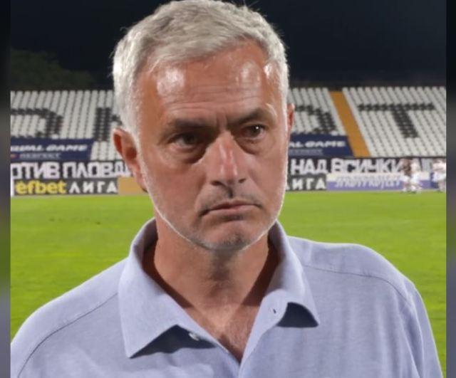 Mourinho flet për ndeshjen kundër Shkëndisë: Në Maqedoni nuk do e kemi leht