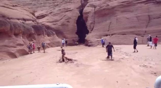 Çahet kodra, buron ujë i madh (VIDEO)