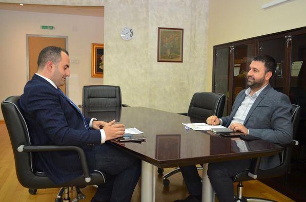 Ministri i BPEU Hoxha realizoi takim pune me ministrin e SHIA Shaqiri realizuan takim pune