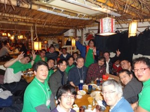 LibreOffice 4.0 launch party photo.