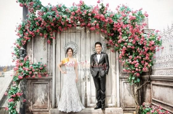 Korea Pre Wedding Cherry blossom Kohit Wedding