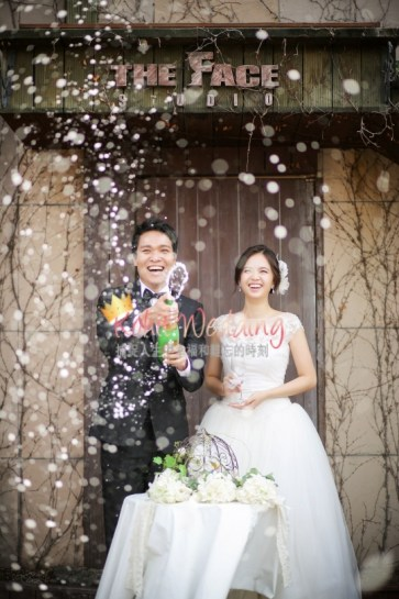 Korea Pre Wedding Cherry blossom Kohit Wedding 2