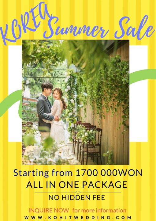 SUMMER 2019 Korea Pre Wedding
