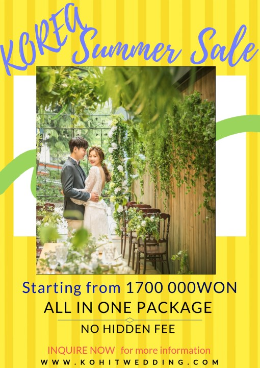 SUMMER 2019 Korea Pre Wedding