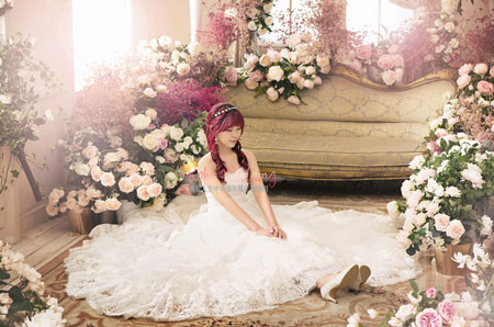 Bong Studio Korea pre wedding