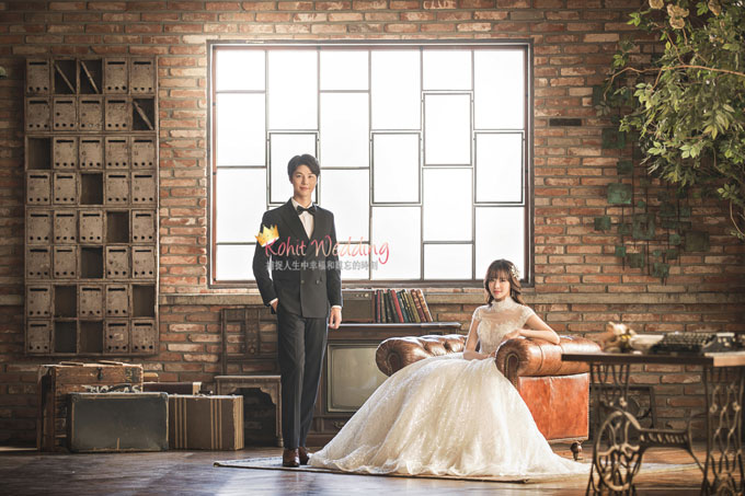 Kohit wedding prewedding in Korea - Nadri studio 14