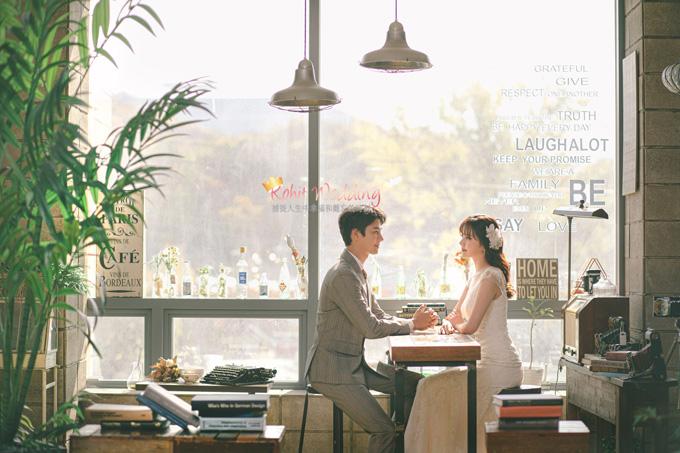 Kohit wedding prewedding in Korea - Nadri studio 16