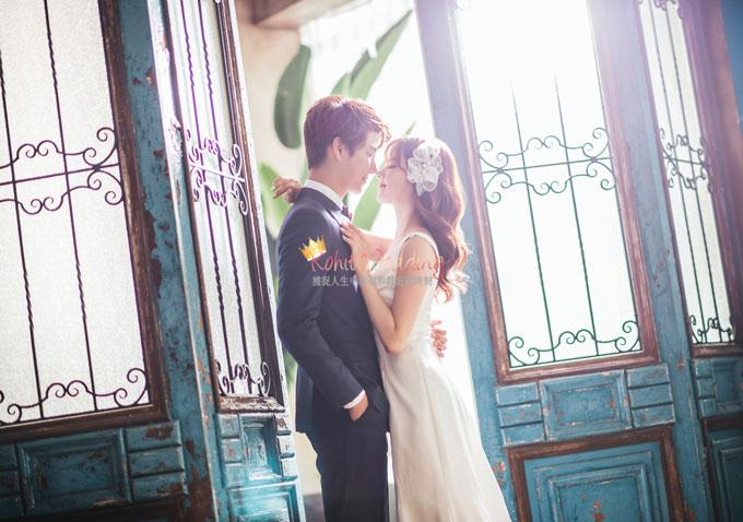 Kohit wedding prewedding in Korea - Nadri studio 25