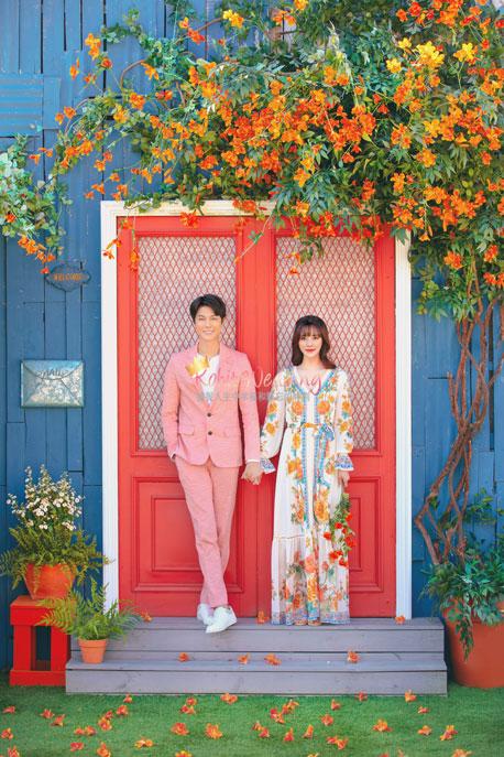 Kohit wedding prewedding in Korea - Nadri studio 3