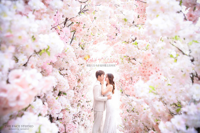 Kohit wedding prewedding in Korea - Nadri studio 35