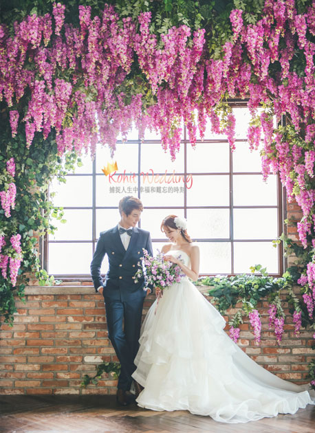 Kohit wedding prewedding in Korea - Nadri studio 37