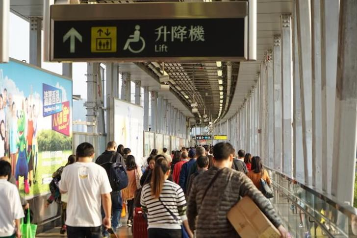 深センから香港国際空港への行き方 20