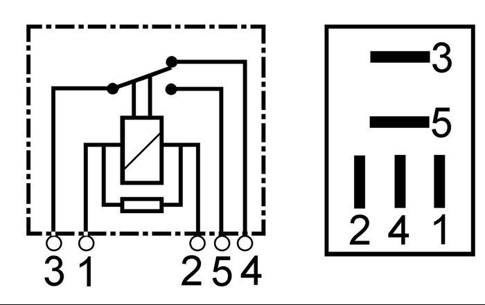 Relais 12 Volt 20 Ampere 10 Ampere Bosch