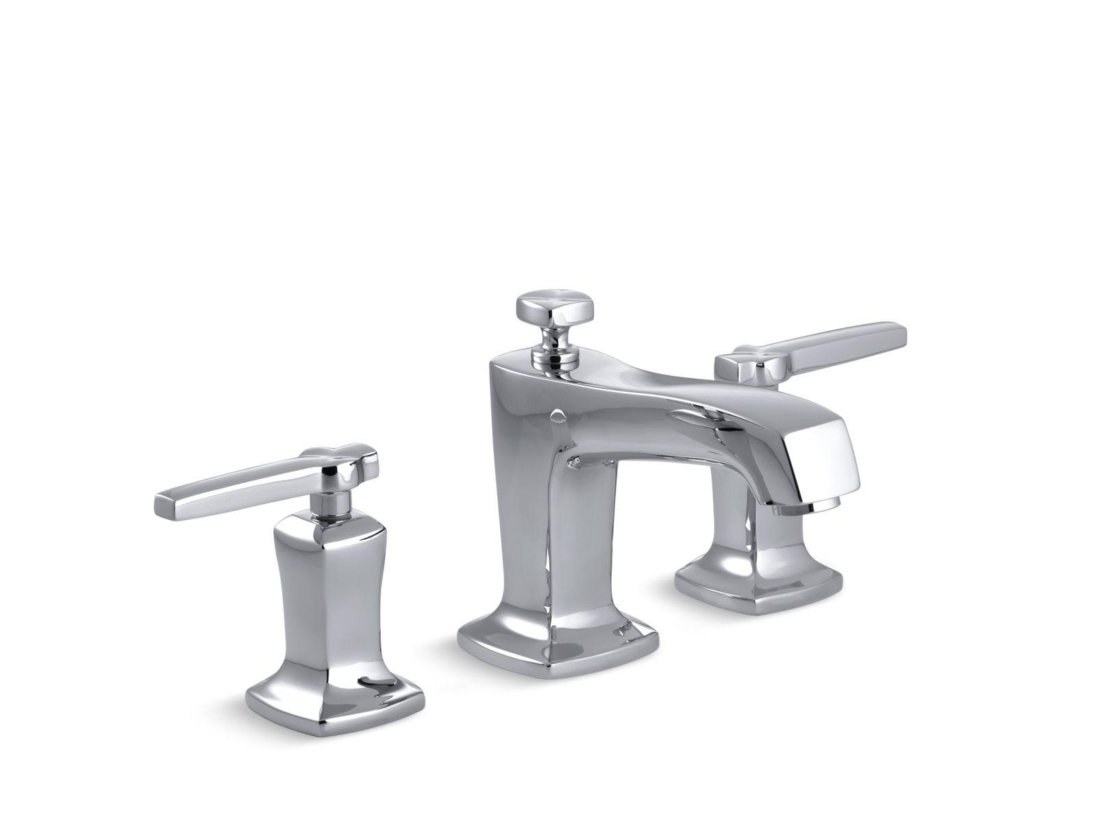 k 16232 4 margaux widespread sink faucet with lever handles kohler
