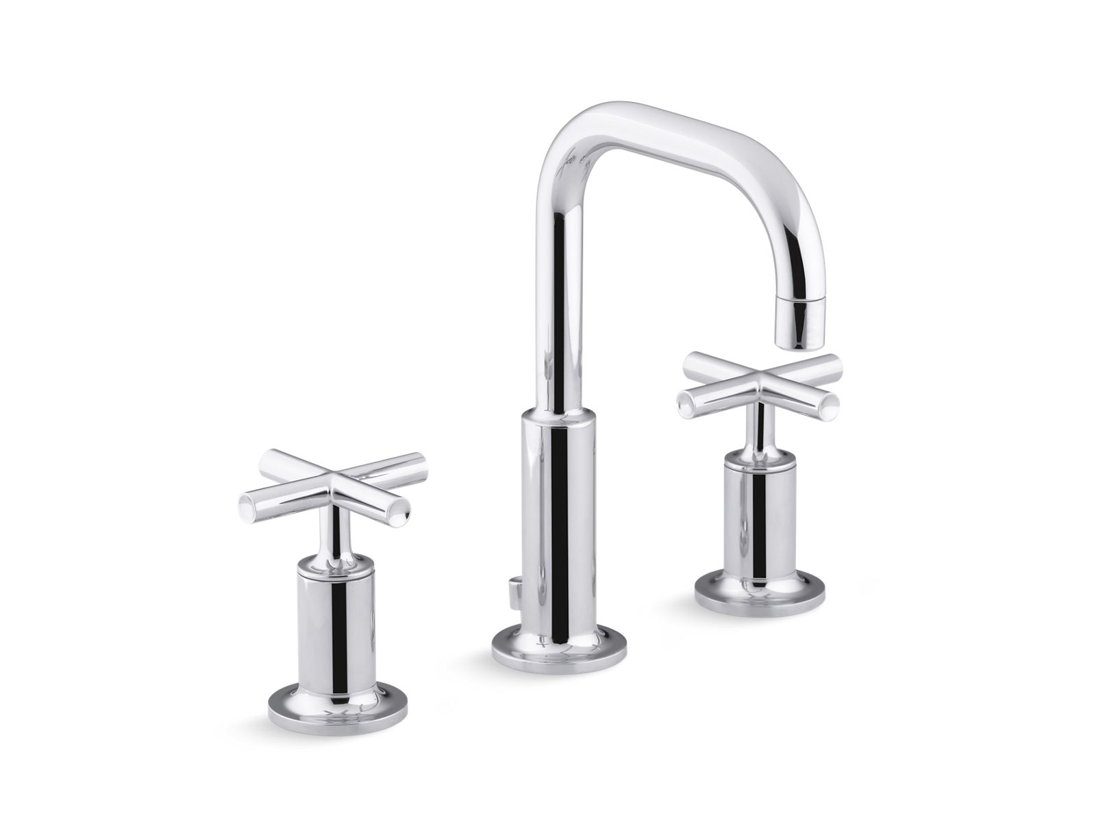 k 14406 3 purist widespread sink faucet with low cross handles kohler
