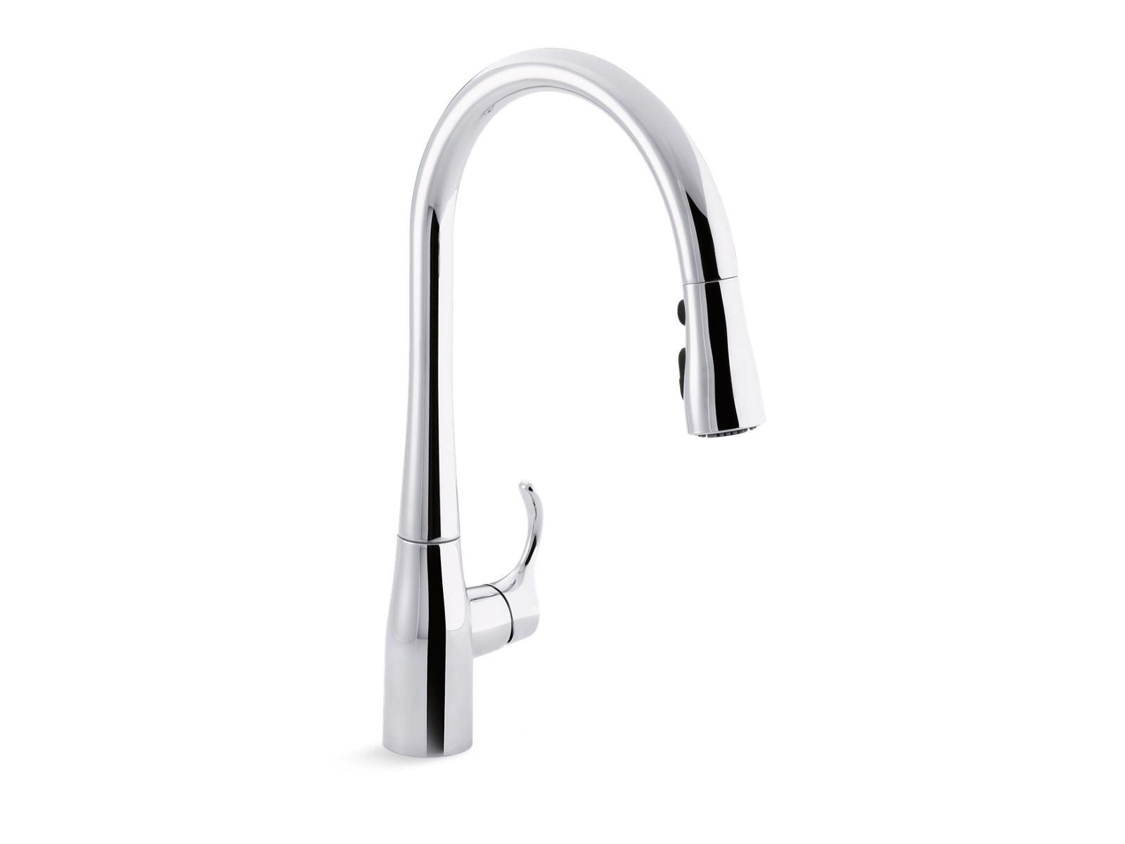 k 596 simplice single handle kitchen sink faucet kohler