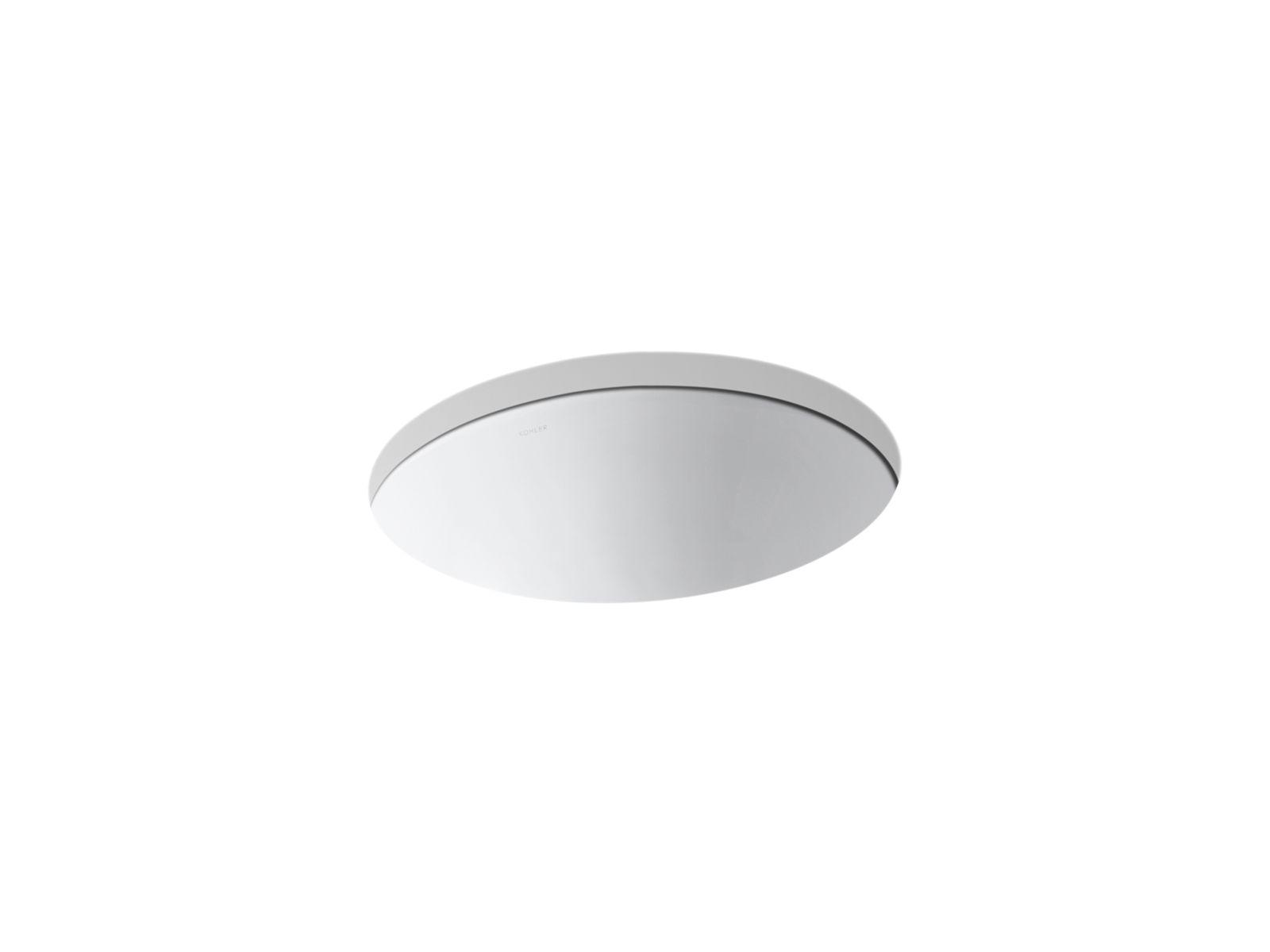 caxton undermount sink w centered drain k 2205 kohler kohler