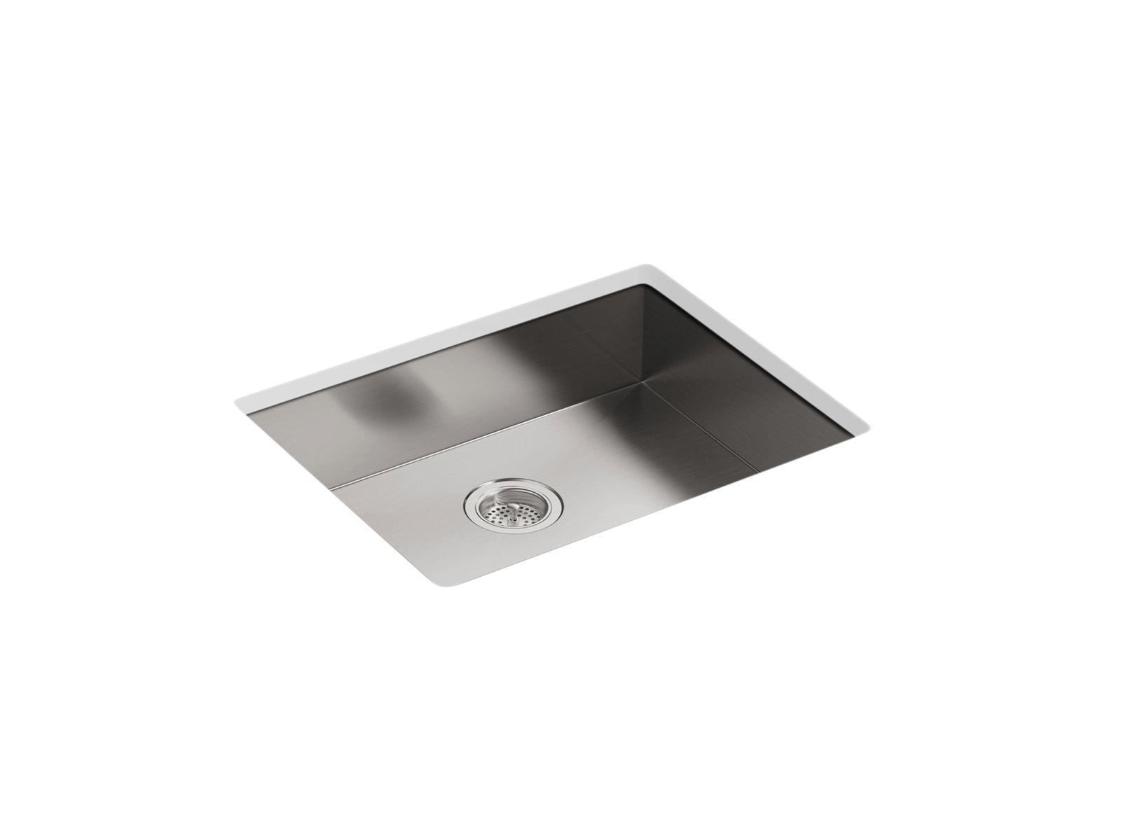 vault dual mount kitchen sink w four faucet holes k 3894 4 kohler kohler canada