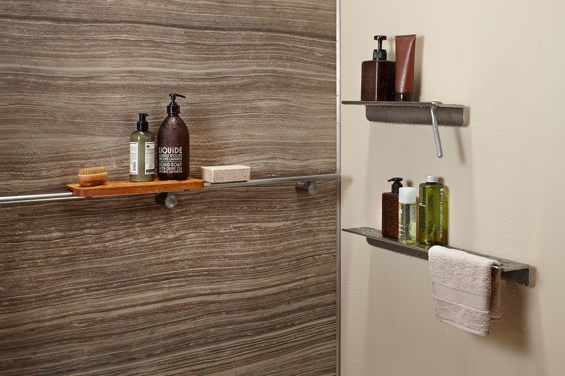 shower space walls bases guides