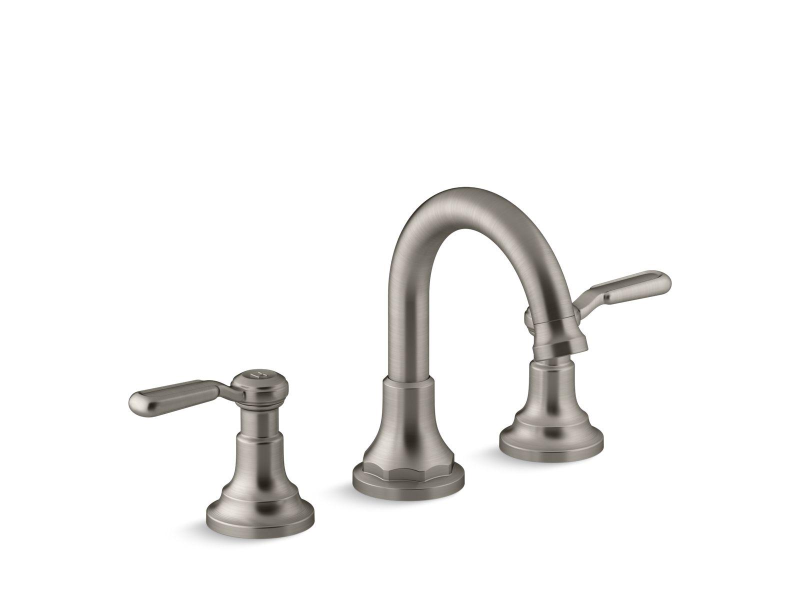 k r76257 4d worth widespread bathroom faucet kohler