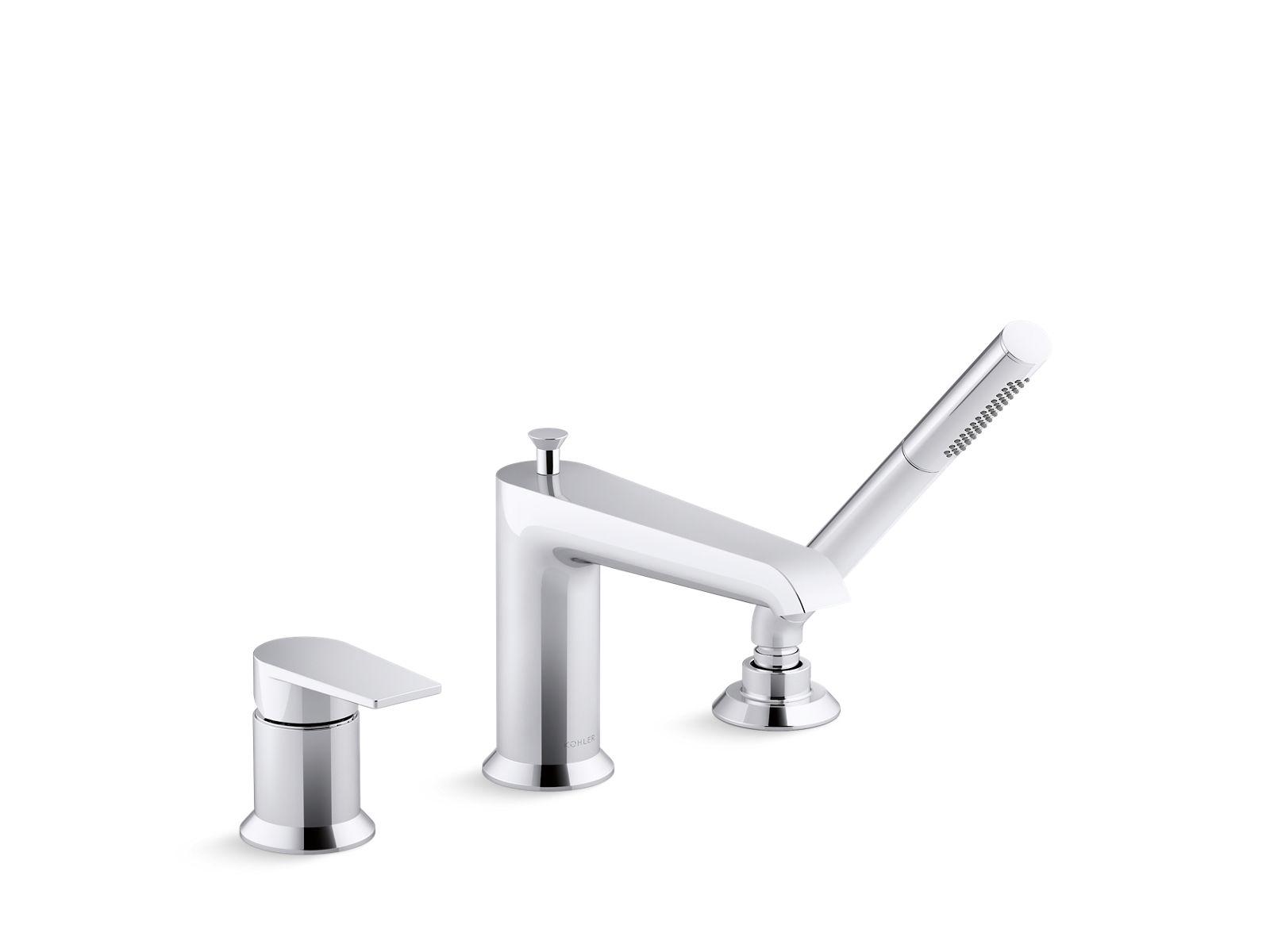 k 97070 4 hint deck mount bath faucet kohler