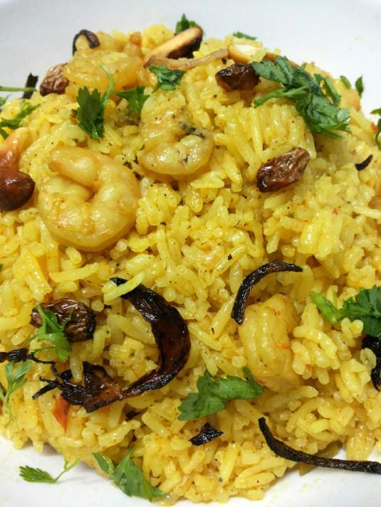 Shrimp Biriyani