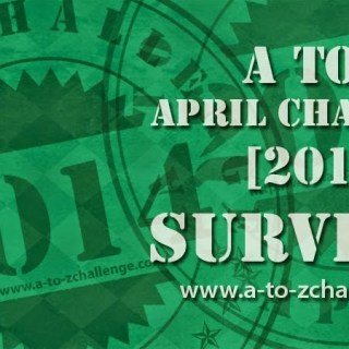 #AtoZChallenge Reflections Post: Yay, I'm a Survivor