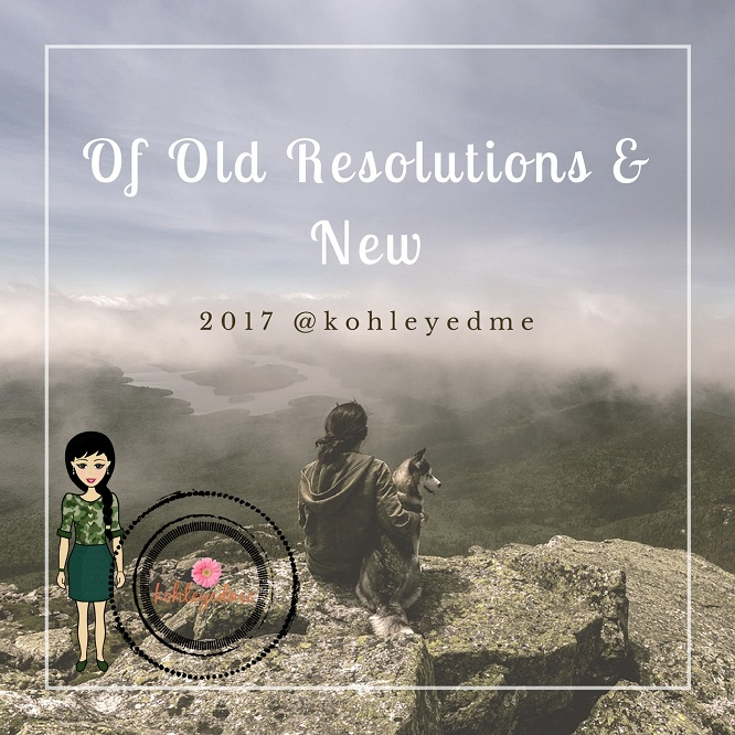 Resolutions - New Year 2017