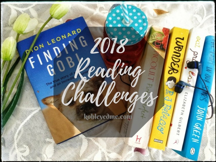 2018 Reading Challenges kohleyedme.com