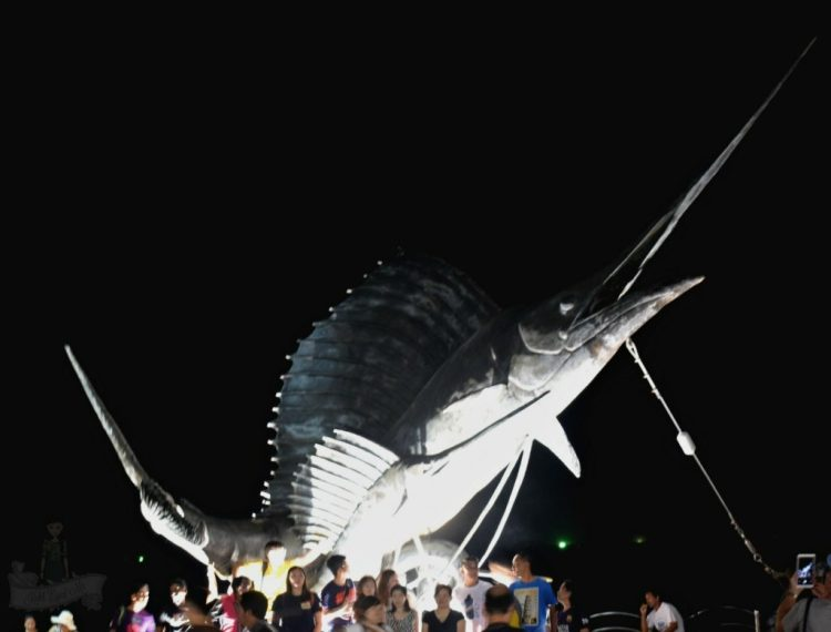 Ao Nang Marlin Statue- Ao Nang fish sculpture