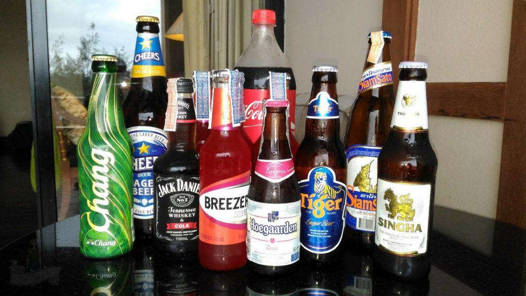 Thailand Chang Beer - Singha Beer - Liquor Thailand