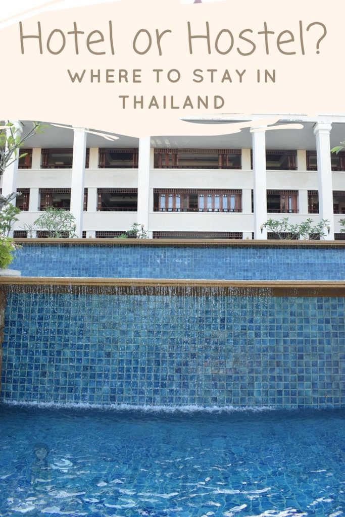 Where to stay in Thailand - Hostel or Hotel in Thailand Pinterest