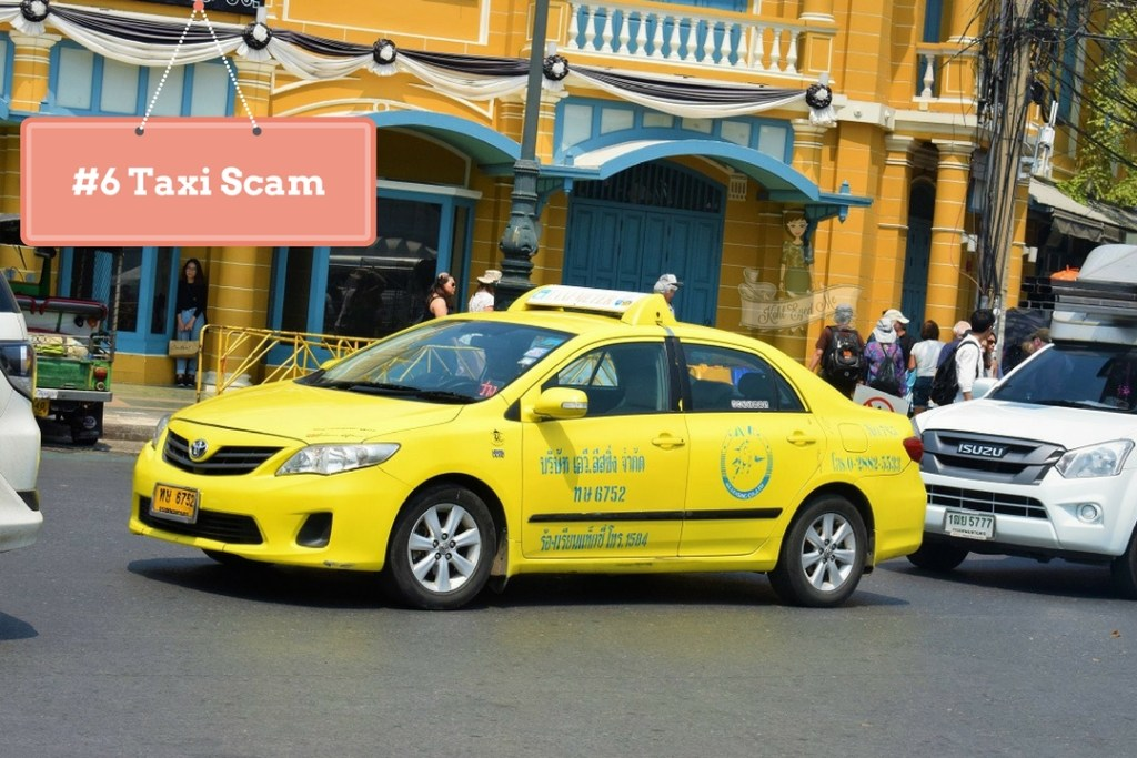 Taxi Scams in Thailand