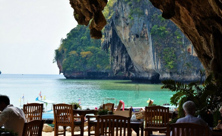 The Grotto Rayavadee Restaurant - How to get to Rayavadee