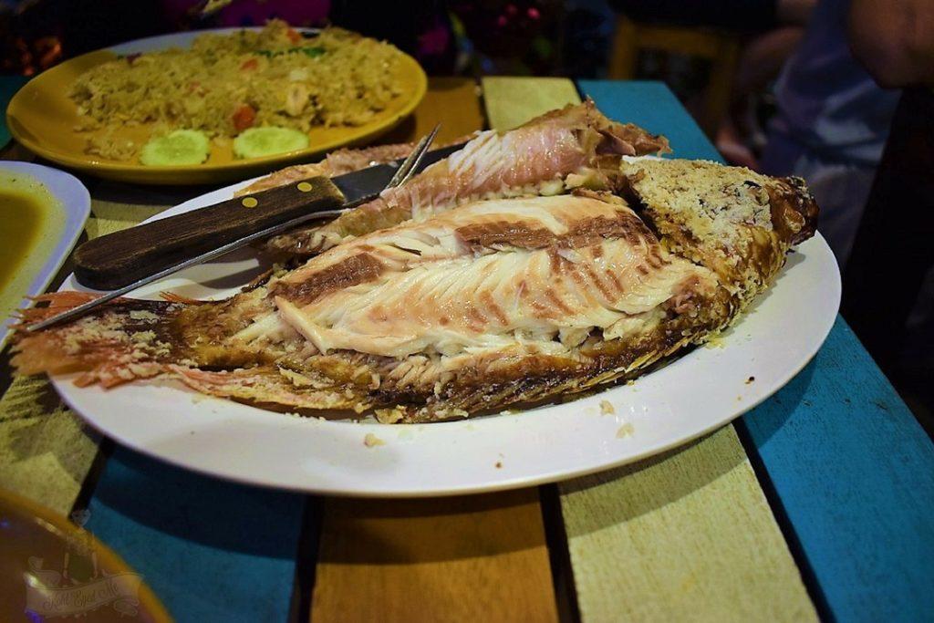 Steamed Fish Thai