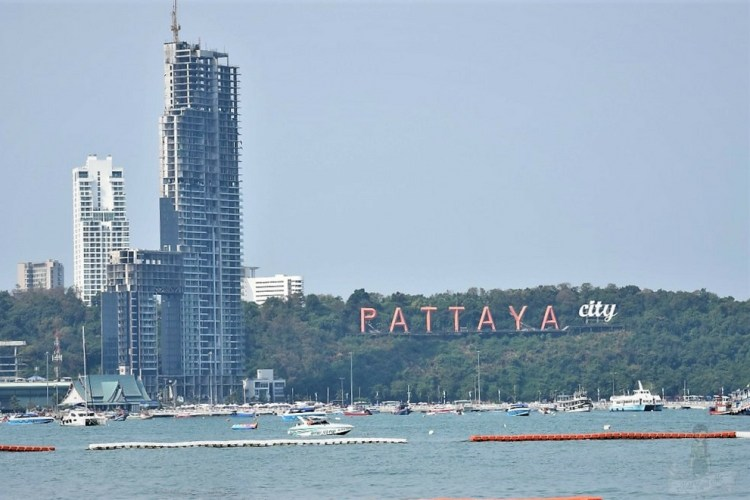 Pattaya Beach - Pattaya Sign - Pattaya city Image