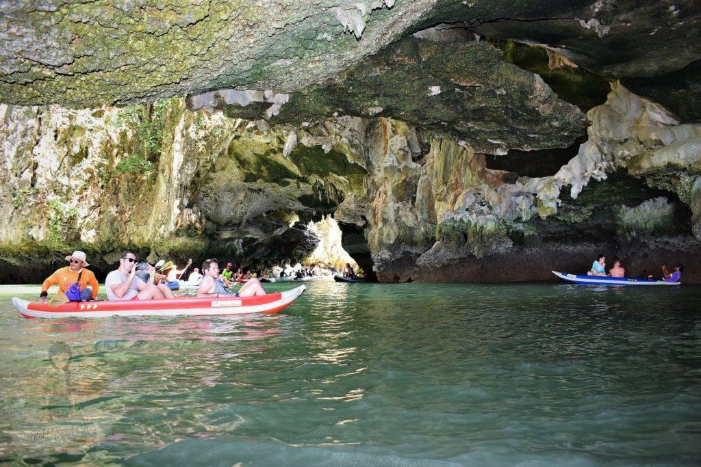 Canoeing at Hong Island Thailand