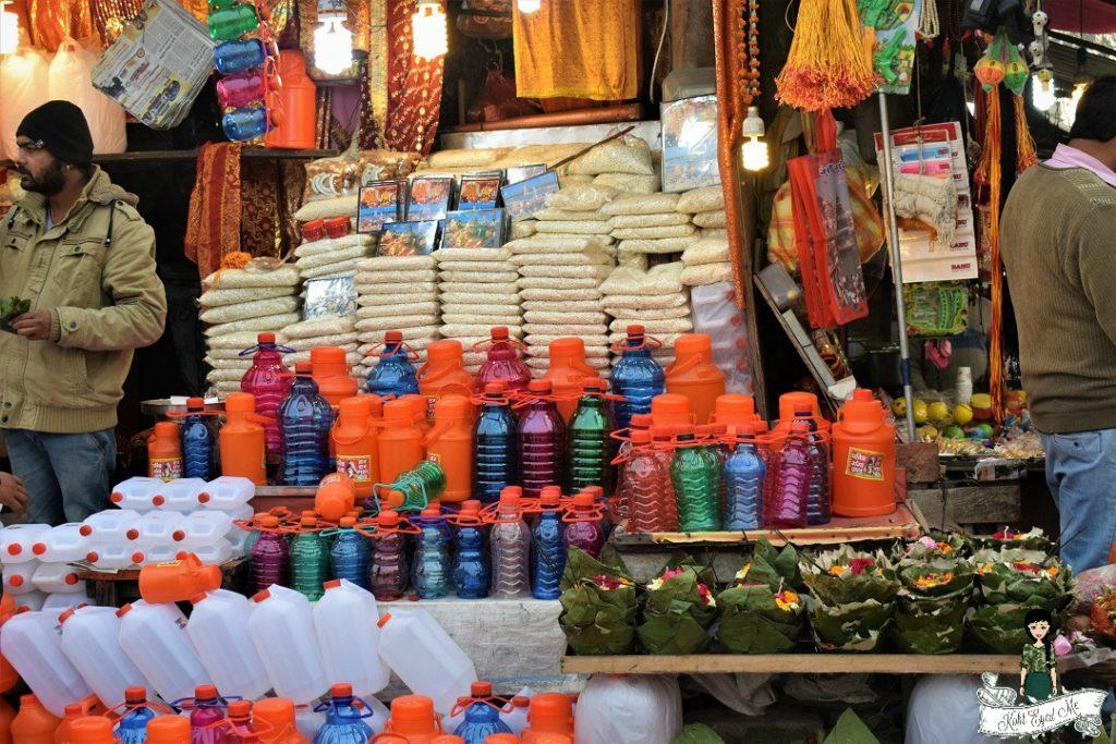 Shopping in Haridwar - Ganga water Haridwar